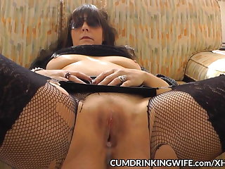 Slutwife creampied away from plenty be required of guys