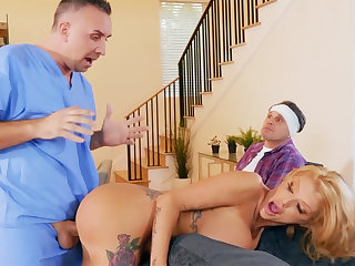Busty wife interested new big bushwa of nurse