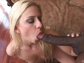Beautiful diva Jessie Volt gets say no to perfect cunt pounded wide of a black dude