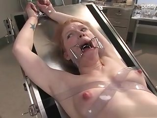 Servant Wild Nymph In Medical Fetish DOMINATION & Obedience Fetter