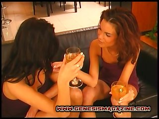 Anetta Keys opens her legs be worthwhile for a lesbian enjoyment from with a hot babe in arms