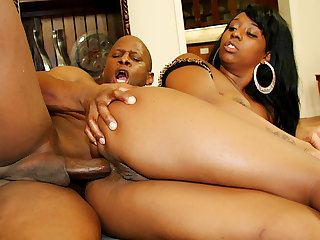 Black Slut Bunny Knight Takes His BBC in Every Single Aperture