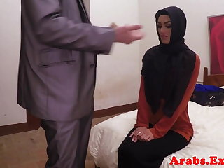 Arab habiba fucked like a whore for assets