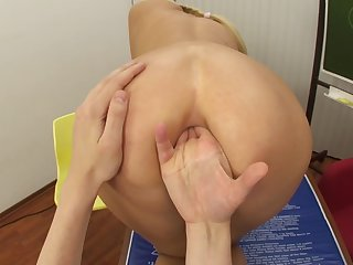 Sodomized Fantasies With Blondie Schoolgirl - Teena Dolly