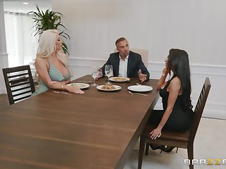 Nicolette Shea dream for a horseshit between her bombs and smarting legs