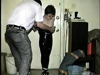 Hot big boobs MILF fucked hardcore by big black cock