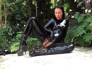 Latex Catsuit Gone away from