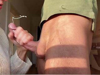 Huge Cum Take a crack at Slow Motion 4k - Complete Cock Sucking
