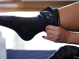 Latex Legs 2 - Helena Moeller - TheLifeErotic