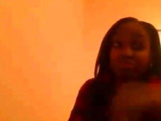 Black teen on cam