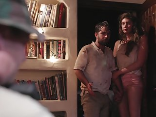 Dude fucks sexy chick Elena Koshka and cums in her pussy