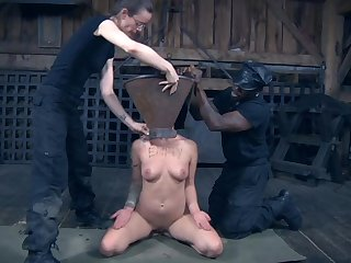 Slutty Abigail Dupree tied up and humiliated for you to watch