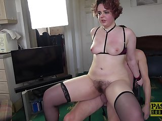 Violated amateur roughly fucked in her hairy snatch on dwelling cam