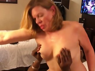Horny whore amazing interracial porn