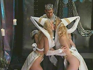 Astonishing Porn Scene Vintage Craziest Pretty Four - Dyanna Lauren, Debi Diamond Increased by Felecia Danay