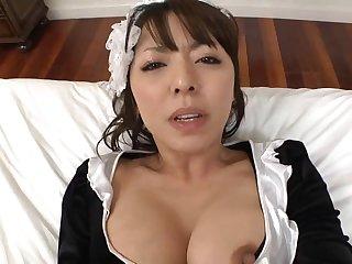 Nipponese lewd vixen diverting porn clip