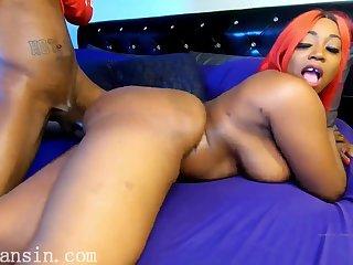 Homemade ghetto porn with big ass ebony mom - Big black tits, black ass